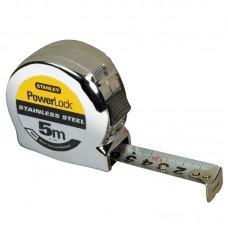 STANLEY PowerLock matavimo ruletė 5 m 19 mm StSt pakuotė