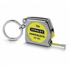 STANLEY PowerLock Ruletė-raktų pakabukas 1 m 6.35 mm