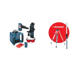 BOSCH GRL 300 HV Set lazerinis nivelyras + GR240 + BT160