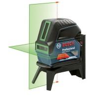 BOSCH GCL 2-15 G kryžminių linijų lazeris (žalias)