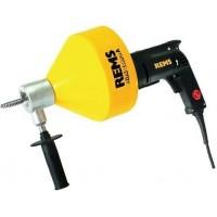 REMS Mini-Cobra A elektrinis vamzdžių valymo įrenginys