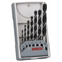 BOSCH X-Pro Line grąžtų medienai rinkinys 3-10 mm (7 vnt.)