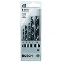 BOSCH grąžtų medienai rinkinys 4-10 mm (5 vnt.)