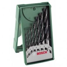BOSCH grąžtų medienai komplektas 3-10 mm (7 vnt.)