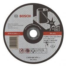 BOSCH AS 46 T INOX BF pjovimo diskas nerūdijančiam plienui 180x2 mm