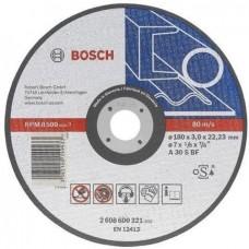 BOSCH A30 S BF pjovimo diskas metalui 180x3 mm