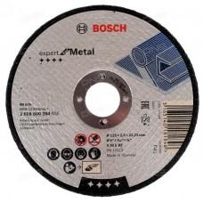 BOSCH A30 S BF pjovimo diskas metalui 125x2,5 mm