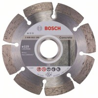 BOSCH Standard for Concrete deimantinis pjovimo diskas 115 mm