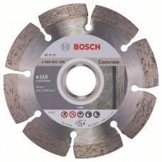 BOSCH Standard for Concrete deimantinis pjovimo diskas 115 mm