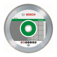BOSCH Standard for Ceramic deimantinis pjovimo diskas 115x1,6 mm