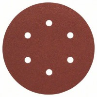 BOSCH šlifavimo popierius medienai K80 150 mm (5 vnt.)