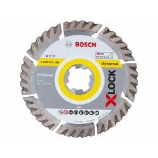 BOSCH X-LOCK Standard for Universal deimantinis pjovimo diskas 125x2 mm