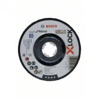 BOSCH X-LOCK Expert for Metal A 30 T BF šlifavimo diskas 125x6 mm
