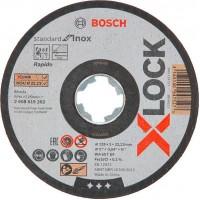 BOSCH X-LOCK Standart for INOX pjovimo diskas 125x1 mm