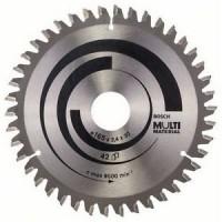 BOSCH MultiMaterial pjūklo diskas 165x2,4 mm T42