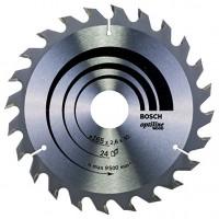 BOSCH OptilineWood pjūklo diskas 165x2,6 mm T24
