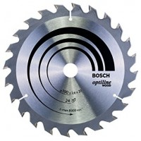 BOSCH OptilineWood pjūklo diskas 190x2,6 mm T24