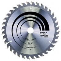 BOSCH OptilineWood pjūklo diskas 190x2,6x20 mm T36