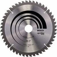 BOSCH OptilineWood pjūklo diskas 216x2,8 mm T48