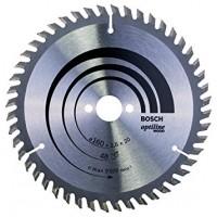 BOSCH OptilineWood pjūklo diskas 160x2,6 mm T48