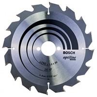 BOSCH OptilineWood pjūklo diskas 190x2 mm T16