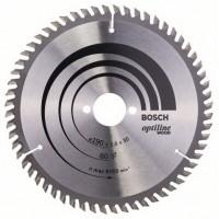 BOSCH OptilineWood pjūklo diskas 190x2,6x30 mm T60