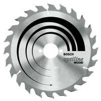 BOSCH SpeedlineWood pjūklo diskas 165x1,7 mm T12