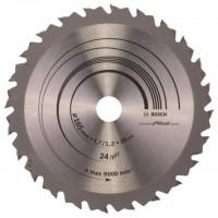 BOSCH SpeedlineWood pjūklo diskas 165x1,7 mm T24