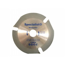 Specialist WoodCutter pjovimo diskas medienai 125 mm