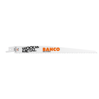 BAHCO pjūkleliai Sandflex Bi-Metal SL 6TPI 300mm