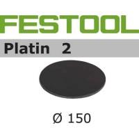 FESTOOL Platin 2 šlifavimo popierius S500 150 mm