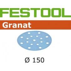 FESTOOL Granat šlifavimo popierius lakui P120 150 mm (1 vnt)