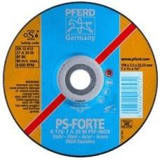 PFERD PSF INOX šlifavimo diskas plienui 125x7 mm