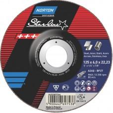 NORTON STARLINE šlifavimo diskas 125x6 mm