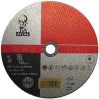 NORTON ATLAS pjovimo diskas nerūdijančiam plienui 230x1.9 mm