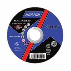 NORTON VULCAN pjovimo diskas plienui 125x1,6 mm