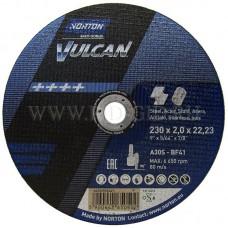 NORTON VULCAN pjovimo diskas plienui 230x2 mm