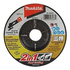 Makita pjovimo diskas metalui 125x2,2 mm