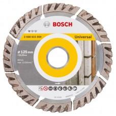 BOSCH Standard for Universal deimantinis pjovimo diskas 125x2 mm