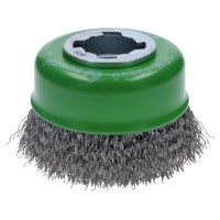 BOSCH X-LOCK Clean for INOX metalinis šepetys 75 mm