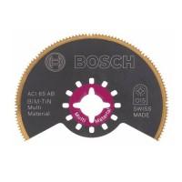 BOSCH ACI 65 AB BIM-TIN Multi Material pusapvalis pjūklelis 65 mm