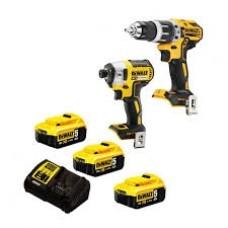 DeWALT DCK266P3 įrankių rinkinys 3x5 Ah