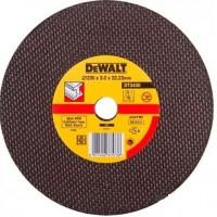 DeWALT DT3430 pjovimo diskas metalui 230x3 mm
