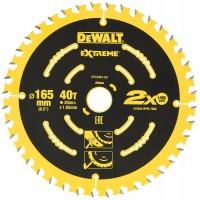DeWALT pjovimo diskas medienai 165 mm T40
