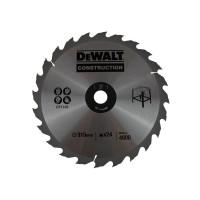 DeWALT pjovimo diskas medienai 315 mm T24