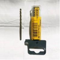 DeWALT HSS-G EXTREME2 grąžtas metalui 5x86 mm (10 vnt)