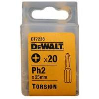 DeWALT suktuvo antgalis PH2 25 mm (20 vnt)