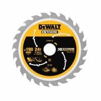 DeWALT pjovimo diskas medienai 190 mm T24