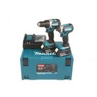 Makita DLX2189TJ įrankių rinkinys 2x5 Ah
