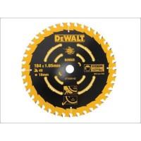 DeWALT pjovimo diskas medienai 184 mm T40